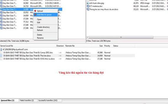 hướng dẫn sử dụng filezilla ftp client