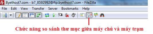 Cách sử dụng phần mềm FTP client