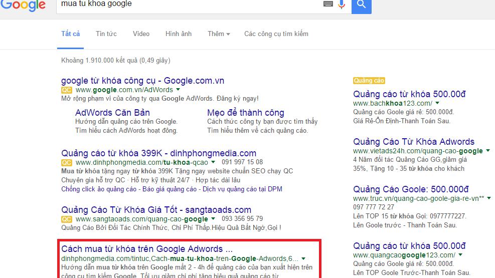 Hướng Dẫn Cách Đăng tin website lên TOP Google Miễn Phí