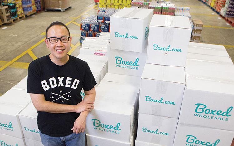 Chieh Huang CEO Boxed doanhnhansaigon