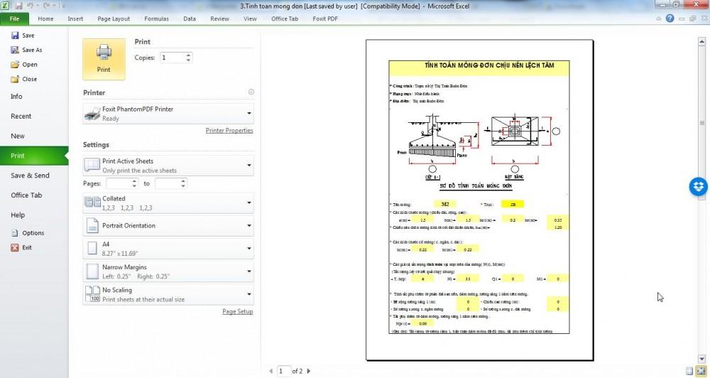 Hiện đường Lưới Trong Excel 2007