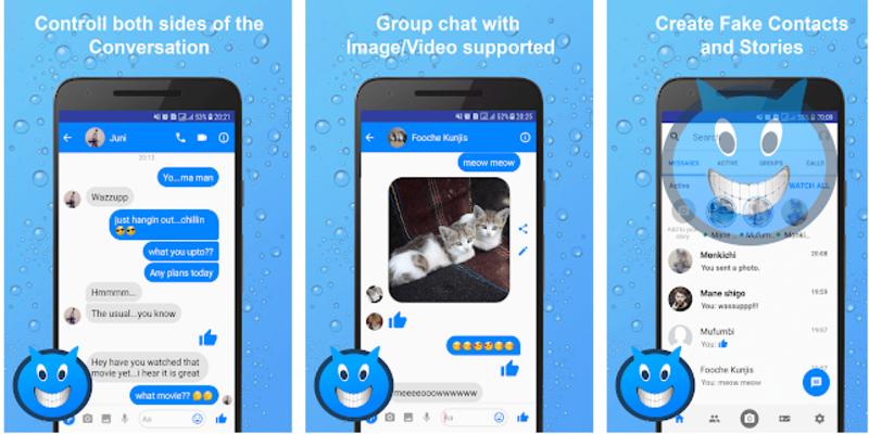 Fake sms giả lập tin nhắn