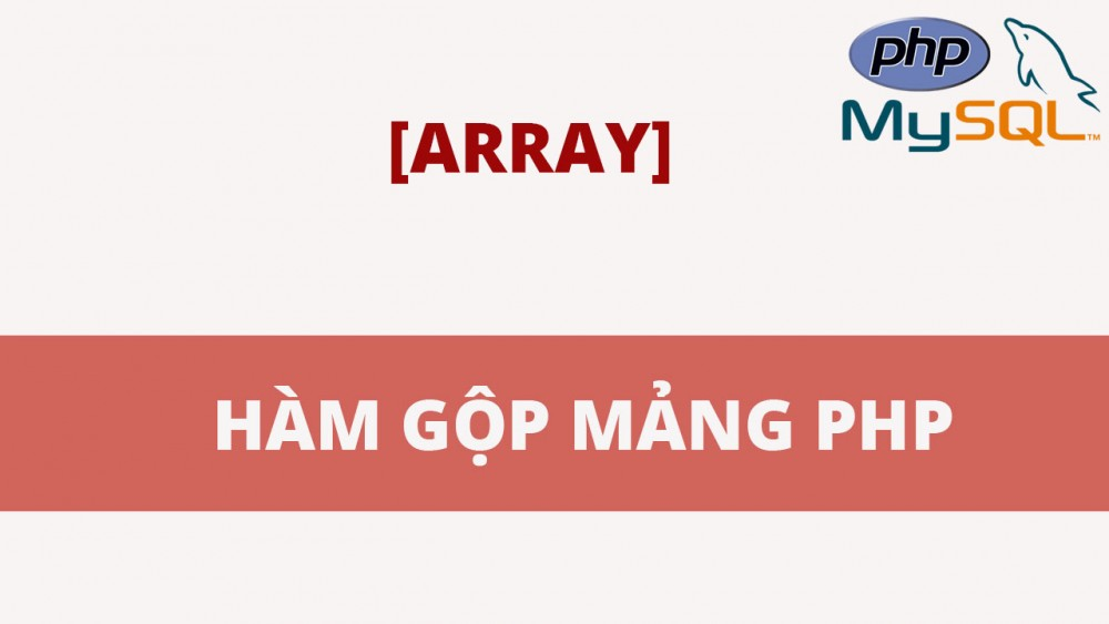 Array Merge Trong Php