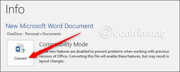 Cách giảm kích thước file Word - Ảnh minh hoạ 2