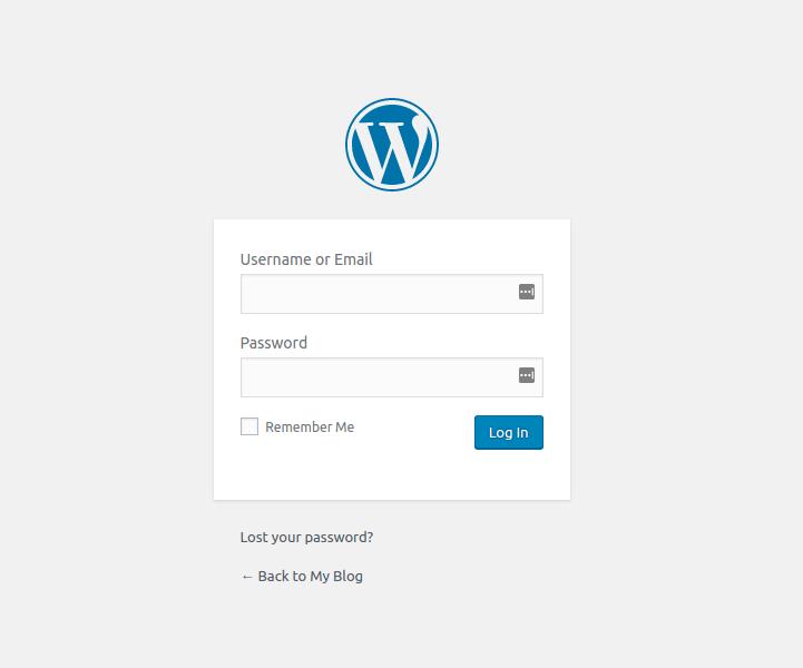 đăng nhập admin WordPress