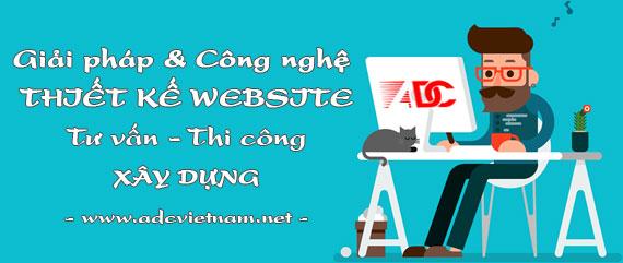 Giải pháp & công nghệ khi thiết kế website tư vấn thi công xây dựng tại ADC Việt Nam