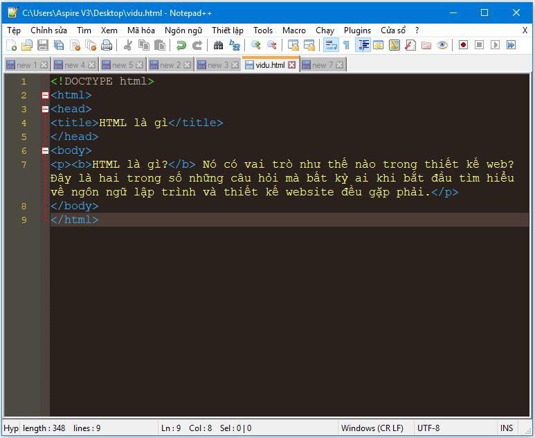 HTML là gì? Vai trò của HTML trong thiết kế web 1