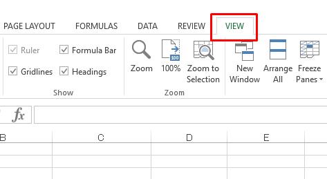 Hướng dẫn ẩn, hiện và tô màu đường lưới trong Excel