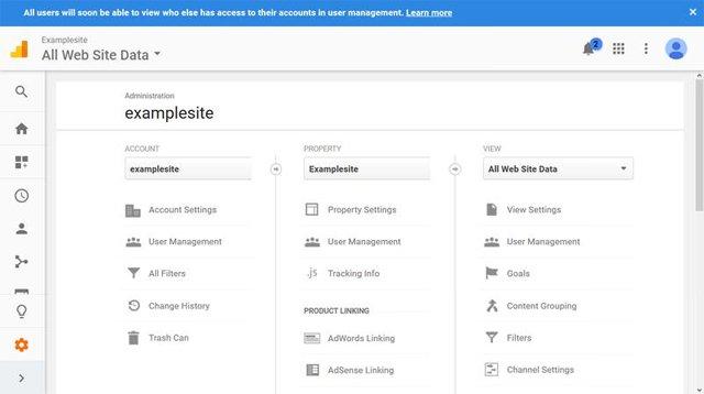Công cụ phân tích Google Analytics