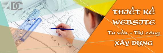 ADC Việt Nam giới thiệu Gói thiết kế website tư vấn thi công xây dựng chuyên nghiệp