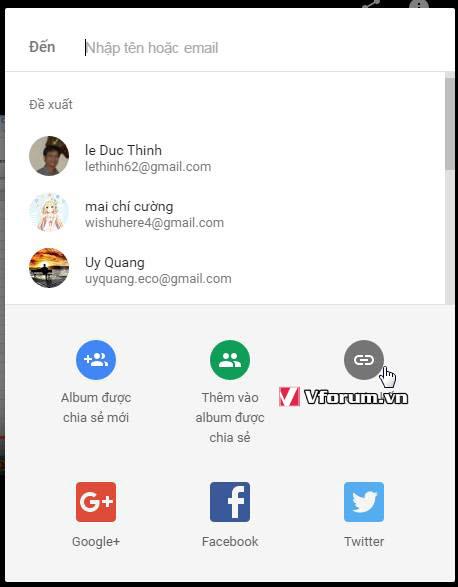 Hướng dẫn cách upload video lên Google Photo và share cho mọi người