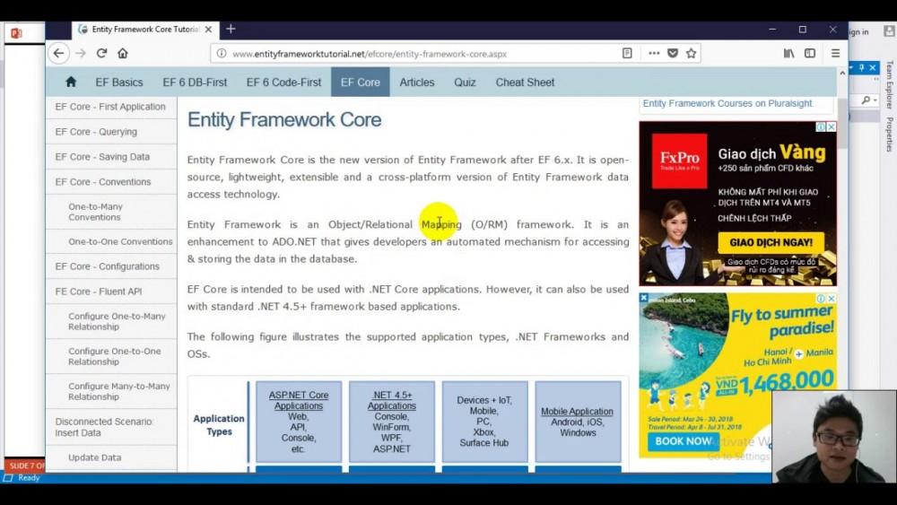 Xây Dựng Web Api Entity Framework
