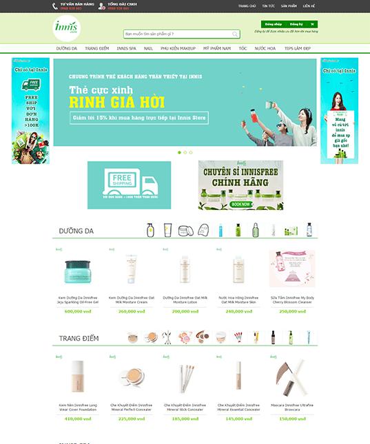 cách tạo website bán hàng