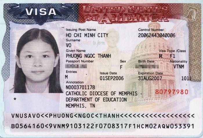 visa - thị thực xuất nhập cảnh