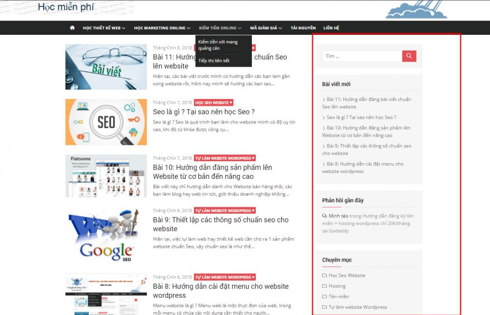 Thiết kế website bằng WordPress - giải pháp thông minh cho mọi Newbie